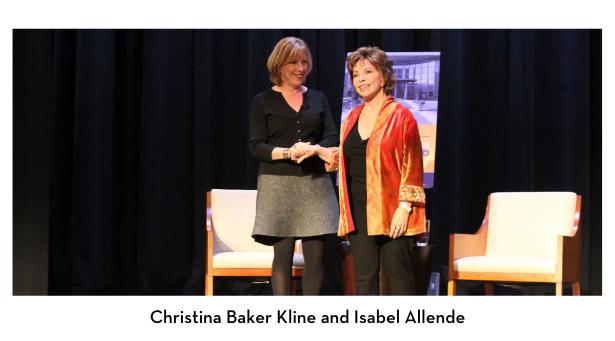 Christina Baker Kline and Isabel Allende