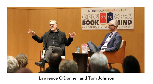 Lawrence O'Donnell and Tom Johnson
