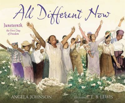 All Different Now by Angela Johnson book cover