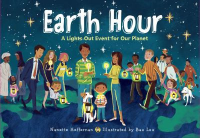 Earth Hour by Nanette Heffernan book cover