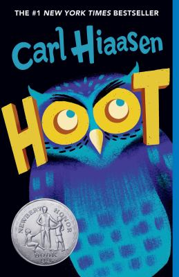 Hoot by Carl Hiaasen book cover