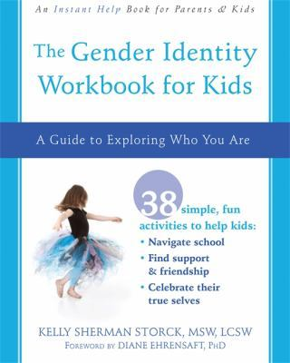 The Gender Identity Workbook for Kids book cover