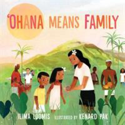'Ohana Means Family by Ilima Loomis book cover