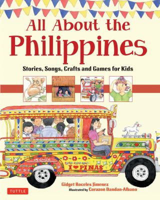 All About the Philippines by Gidget Jimenez book cover